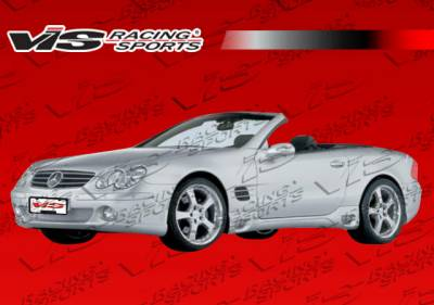 SL - Side Skirts - VIS Racing - Mercedes-Benz SL VIS Racing DTM Side Skirts - 03MER2302DDTM-004