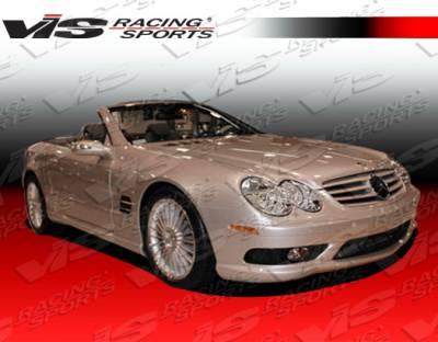 SL - Side Skirts - VIS Racing - Mercedes-Benz SL VIS Racing Euro Tech Side Skirts - 03MER2302DET-004