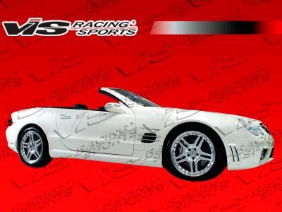 SL - Side Skirts - VIS Racing - Mercedes-Benz SL VIS Racing SL63 Style Side Skirts - 03MER2302DSL63-004