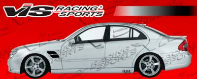E Class - Side Skirts - VIS Racing - Mercedes-Benz E Class VIS Racing Laser Side Skirts - 03MEW2114DLS-004