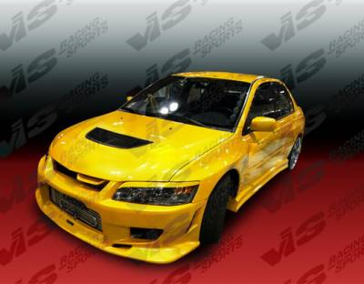 Evolution 8 - Side Skirts - VIS Racing - Mitsubishi Evolution 8 VIS Racing Tracer Side Skirts - 03MTEV84DTRA-004