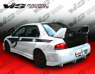 Evolution 8 - Side Skirts - VIS Racing - Mitsubishi Evolution 8 VIS Racing Z Speed Side Skirts - 03MTEV84DZSP-004