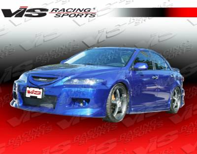 6 4Dr - Side Skirts - VIS Racing - Mazda 6 VIS Racing K Speed Side Skirts - 03MZ64DKSP-004
