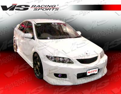 6 4Dr - Side Skirts - VIS Racing - Mazda 6 VIS Racing Magnum Side Skirts - 03MZ64DMAG-004