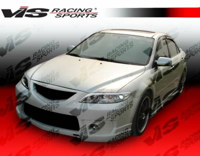 6 4Dr - Side Skirts - VIS Racing - Mazda 6 VIS Racing Techno R-2 Side Skirts - 03MZ64DTNR2-004