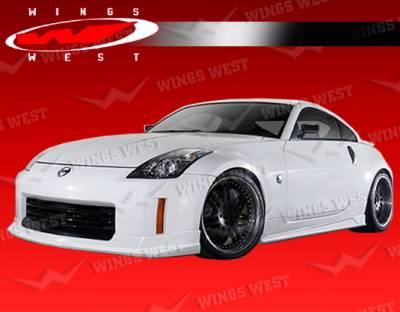 350Z - Side Skirts - VIS Racing - Nissan 350Z VIS Racing JPC Type S Side Skirts - Polyurethane - 03NS3502DJPCS-004P