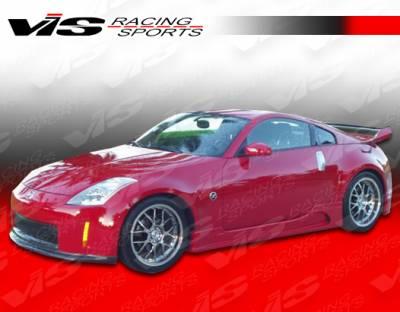 350Z - Side Skirts - VIS Racing - Nissan 350Z VIS Racing J Speed Side Skirts - 03NS3502DJSP-004