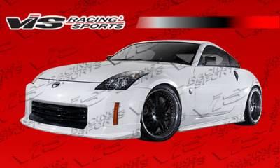 350Z - Side Skirts - VIS Racing - Nissan 350Z VIS Racing J Speed Side Skirts - Polyurethane - 03NS3502DJSP-004P
