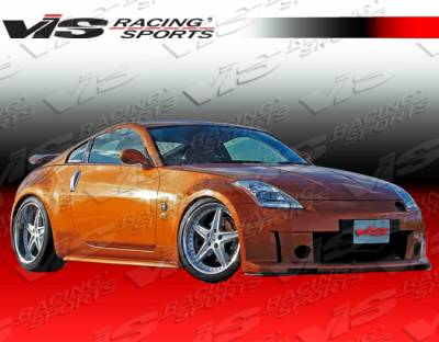 350Z - Side Skirts - VIS Racing - Nissan 350Z VIS Racing Milano Side Skirts - 03NS3502DMIL-004