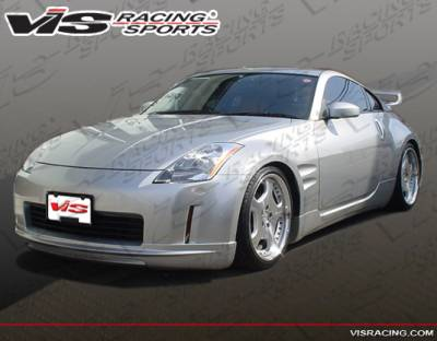 350Z - Side Skirts - VIS Racing - Nissan 350Z VIS Racing VIP Side Skirts - 03NS3502DVIP-004