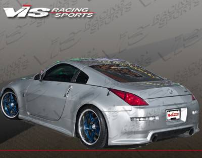 350Z - Side Skirts - VIS Racing - Nissan 350Z VIS Racing Wings Side Skirts - 03NS3502DWIN-004