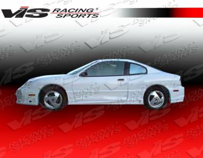 Sunfire - Side Skirts - VIS Racing - Pontiac Sunfire VIS Racing Ballistix Side Skirts - 03PTSUN4DBX-004