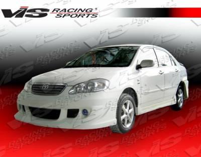 Corolla - Side Skirts - VIS Racing - Toyota Corolla VIS Racing Icon Side Skirts - 03TYCOR4DICO-004