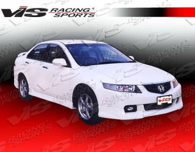 TSX - Side Skirts - VIS Racing - Acura TSX VIS Racing Type R-2 Side Skirts - 04ACTSX4DTYR2-004