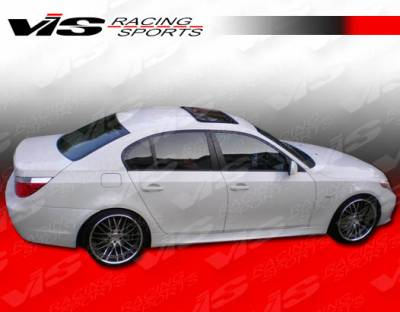 5 Series - Side Skirts - VIS Racing - BMW 5 Series VIS Racing M Tech Side Skirts - 04BME604DMTH-004
