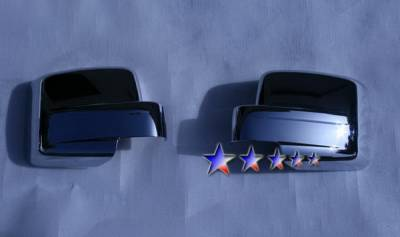 Liberty - Mirrors - APS - Jeep Liberty APS Mirror Covers - MC324