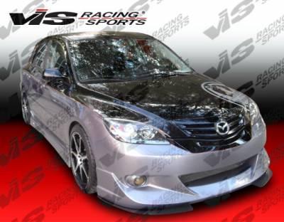 3 4Dr HB - Side Skirts - VIS Racing - Mazda 3 4DR HB VIS Racing Viper Side Skirts - 04MZ3HBVR-004