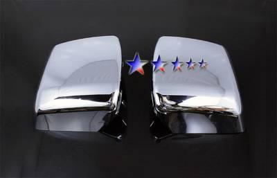 Tundra - Mirrors - APS - Toyota Tundra APS Mirror Covers - MC334