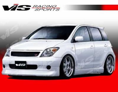 XA - Side Skirts - VIS Racing - Scion xA VIS Racing K Speed Side Skirts - 04SNXA4DKSP-004