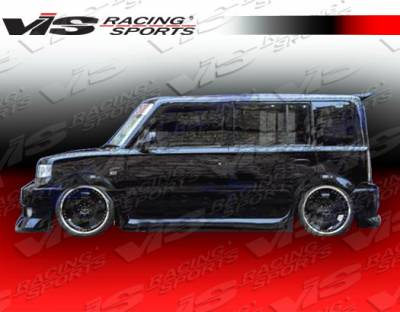 XB - Side Skirts - VIS Racing - Scion xB VIS Racing VIP Side Skirts - 04SNXB4DVIP-004