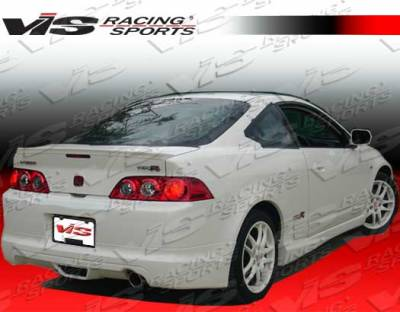 RSX - Side Skirts - VIS Racing - Acura RSX VIS Racing Techno R-2 Side Skirt - Carbon Fiber - 05ACRSX2DTNR2-004C