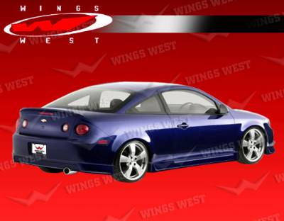 Cobalt 2Dr - Side Skirts - VIS Racing - Chevrolet Cobalt VIS Racing JPC Side Skirts - Polyurethane - 05CHCOB2DJPC-004P