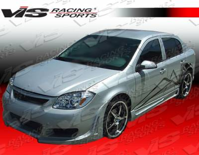 Cobalt 2Dr - Side Skirts - VIS Racing - Chevrolet Cobalt VIS Racing Touring Side Skirts - 05CHCOB2DTOU-004