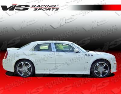 300 - Side Skirts - VIS Racing - Chrysler 300 VIS Racing EVO Side Skirts - 05CY3004DEVO-004