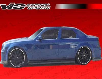 300 - Side Skirts - VIS Racing - Chrysler 300 VIS Racing VIP-4 Side Skirts - 05CY3004DVIP4-004