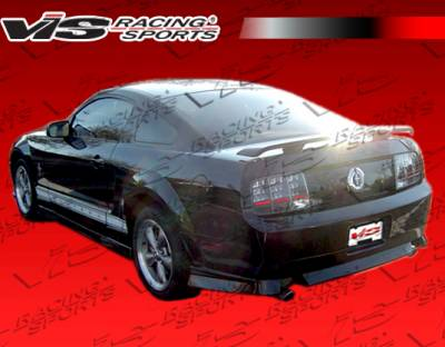 Mustang - Side Skirts - VIS Racing. - Ford Mustang VIS Racing Ballistix Side Skirts - 05FDMUS2DBX-004
