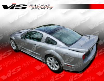 Mustang - Side Skirts - VIS Racing - Ford Mustang VIS Racing Stalker Side Skirts - 05FDMUS2DSTK-004