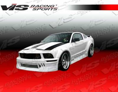 Mustang - Side Skirts - VIS Racing. - Ford Mustang VIS Racing TSW Side Skirts - 05FDMUS2DTSW-004