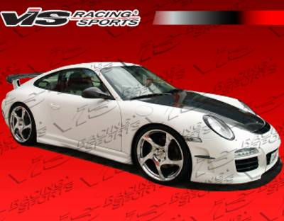 911 - Side Skirts - VIS Racing - Porsche 911 VIS Racing Mania Side Skirts - 05PS9972DMAN-004
