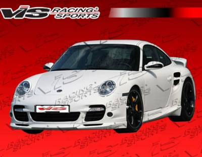 911 - Side Skirts - VIS Racing - Porsche 911 VIS Racing Turbo Style Side Skirts - 05PS9972DTUR-004