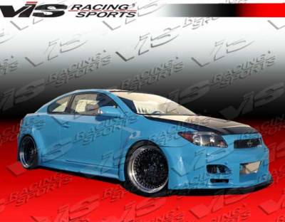 TC - Side Skirts - VIS Racing. - Scion tC VIS Racing GT Widebody Side Skirts - 05SNTC2DGTWB-004