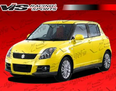 Swift - Side Skirts - VIS Racing - Suzuki Swift VIS Racing D Speed Side Skirts - 05SZSWF4DDSP-004