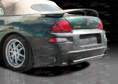 Eclipse - Rear Bumper - AIT Racing - Mitsubishi Eclipse BMagic Delux Style Rear Bumper - ME00BMDLSRB