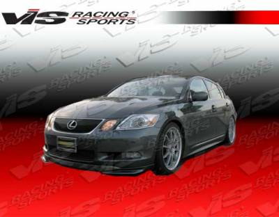 GS - Side Skirts - VIS Racing - Lexus GS VIS Racing VIP-2 Side Skirts - 06LXGS34DVIP2-004