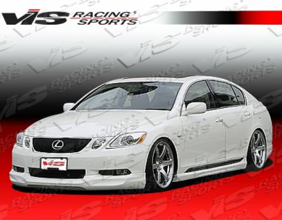 GS - Side Skirts - VIS Racing - Lexus GS VIS Racing Wings Side Skirts - 06LXGS34DWIN-004
