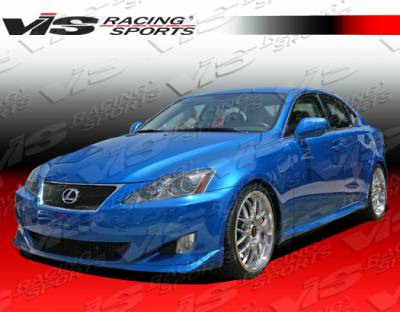 IS - Side Skirts - VIS Racing - Lexus IS VIS Racing Techno R Side Skirts - 06LXIS34DTNR-004