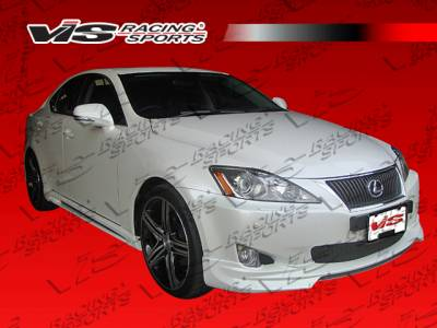 IS - Side Skirts - VIS Racing - Lexus IS VIS Racing VIP Side Skirts - 06LXIS34DVIP-004