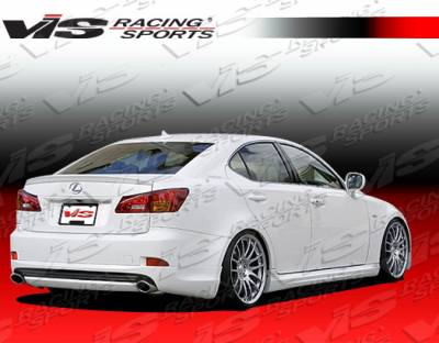 IS - Side Skirts - VIS Racing - Lexus IS VIS Racing Wings Side Skirts - 06LXIS34DWIN-004