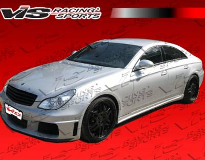 CLS - Side Skirts - VIS Racing - Mercedes-Benz CLS VIS Racing B-Spec Side Skirts - 06MEW2194DBS-004