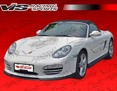 Cayman - Side Skirts - VIS Racing - Porsche Cayman VIS Racing Ars Side Skirts - Polyurethane - 06PSCAM2DARS-004P