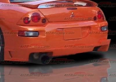 Eclipse - Rear Bumper - AIT Racing - Mitsubishi Eclipse AIT Racing BZ Style Rear Bumper - ME00HIBZSRB