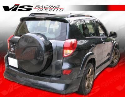 Rav 4 - Side Skirts - VIS Racing - Toyota Rav 4 VIS Racing CT Cruiser Side Skirts - 06TYRAV4DCTC-004