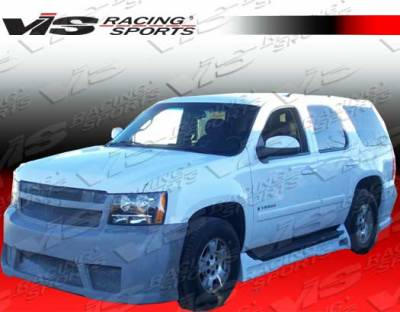 Silverado - Side Skirts - VIS Racing - Chevrolet Silverado VIS Racing VIP Side Skirts - 07CHSIL2DVIP-004