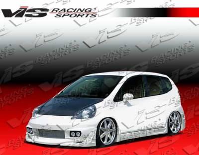 Fit - Side Skirts - VIS Racing - Honda Fit VIS Racing Sense Side Skirts - 07HDFIT4DSEN-004