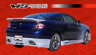 Tiburon - Side Skirts - VIS Racing - Hyundai Tiburon VIS Racing Razor Side Skirts - 07HYTIB2DRAZ-004