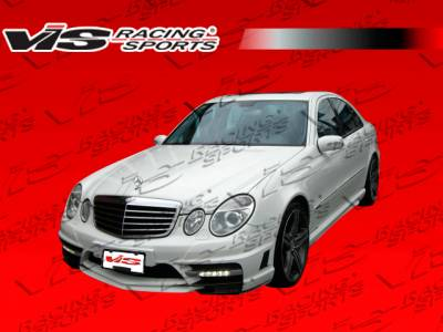 E Class - Side Skirts - VIS Racing - Mercedes-Benz E Class VIS Racing VIP Side Skirts - 07MEW2114DVIP-004